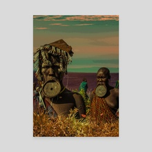 Tribe Family - Canvas by Zach Murray