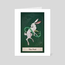 The fool - Art Card by Semolina