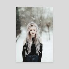Snowy - Canvas by Jovana Rikalo