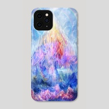 Crystal peak - Phone Case by Louis Dyer
