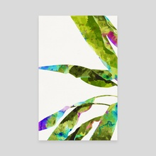 Banana Leaves Holi - Canvas by 83 Oranges