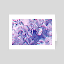Outrun Vapor - Art Card by Andi GreyScale