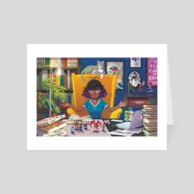 The DM - Art Card by Missy Pena