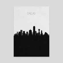 Dallas - Canvas by Deniz Akerman