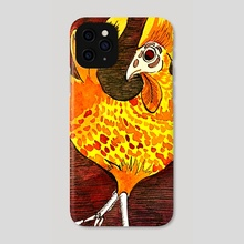 El Gallo - Phone Case by Lucie Hayford