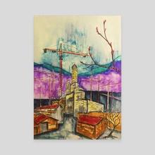 Beautiful Industry - Canvas by Dwayne  Hawk