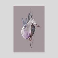 Mechanical heart - Canvas by YanaGoga