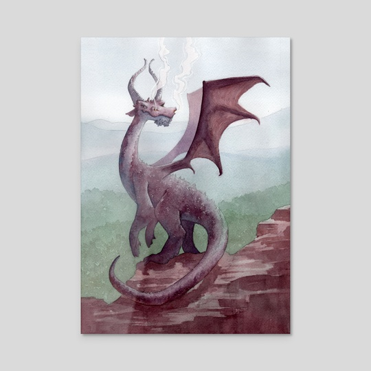 Cliff Dragon by Manelle Oliphant