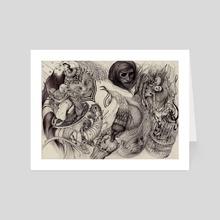 Neurosis - Art Card by David López