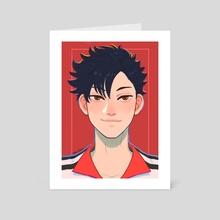 kuroo - Art Card by cocochoon
