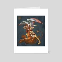 St  Michael  - Art Card by Foolish Mortal
