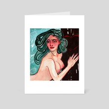 MERMAY 19' 1 - Art Card by Natália Morais