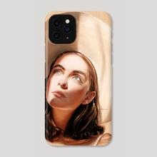Kianna - Phone Case by Stu Chapman