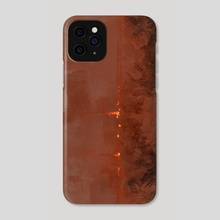 Wild fire - Phone Case by Christian Muller