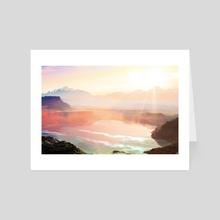 Sunrise Grandeur - Art Card by 83 Oranges