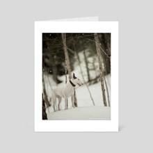 Deep snow - Art Card by Kimberly AF