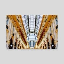Vittorio - Canvas by Nabila Ahmed