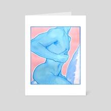 Blue - Art Card by marioabbs