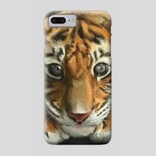 Tiger cub - Phone Case by Liliana Corradini