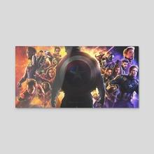 Avengers Endgame - Infinity War  - Acrylic by Pablo Ruiz
