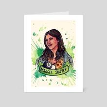 Maggie Sawyer  - Art Card by En Tze