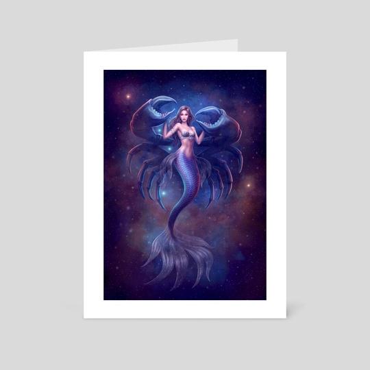 Mermaid Zodiac: Cancer by Yasushi Matsuoka