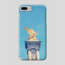 Golden Horse - Phone Case by Andres Sc