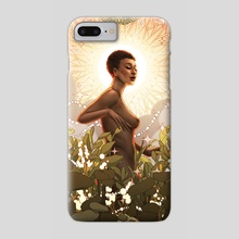 "Sunkissed - Phone Case by Ejiwa ""Edge"" Ebenebe"