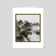 Landscape - 18 - Art Card by River Han