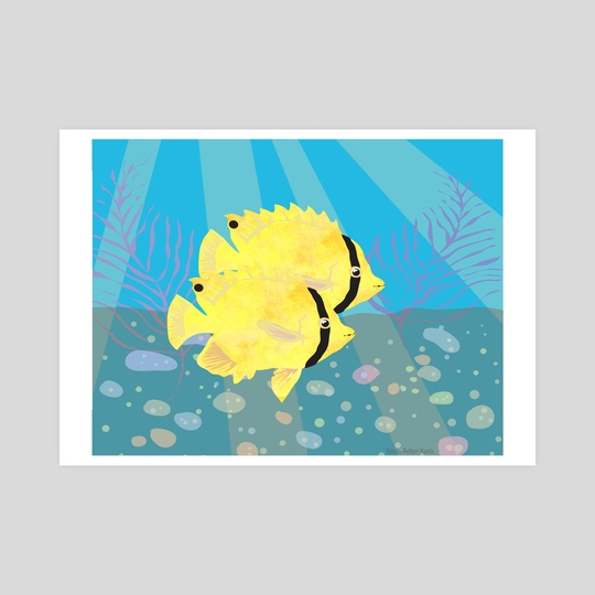 Buttterflyfish2 by Kristin Harris
