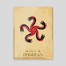 House Phiarlan - Acrylic by Claudio Pozas