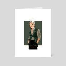 Wizard - Elegance - Art Card by Cherry