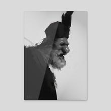 kozak - Acrylic by Michal Lisowski