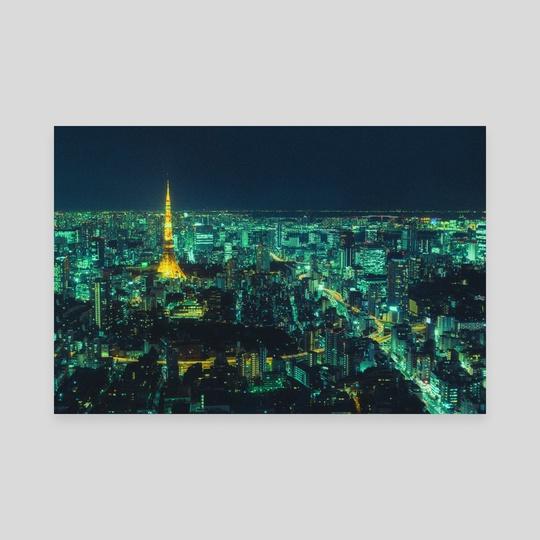 Tokyo Emerald by Davide Sasso