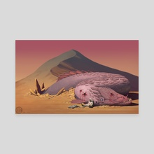 The Desert Thorn - Canvas by Christopher Blackstock