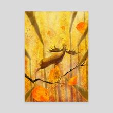 Autumn - Canvas by Dmitry Rezchikov