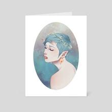 Thistle - Art Card by Viktoria Dekay