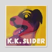 KK Album Cover - Acrylic by Charlie Nagelhout