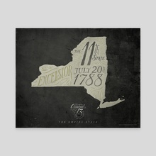 New York: The 11th State - Canvas by The Union Archive