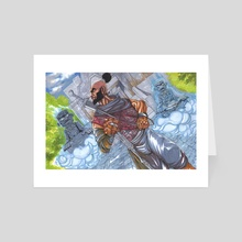 World of Seven Seals - Art Card by William Jamison