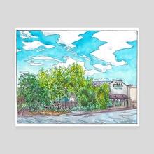 Flat Branch Pub & Brewing - Canvas by Cody Davis