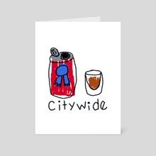 citywide - Art Card by Orin Dee
