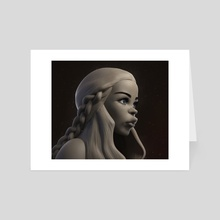 Khaleesi - Art Card by Francis-Xavier Martins