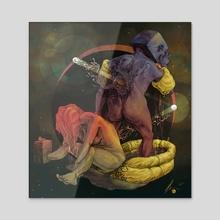 Blocks - Acrylic by Animal Money