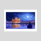 The Golden Temple - Art Print by Surendra Rajawat