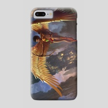 MetaWing - Phone Case by Clarence Bateman