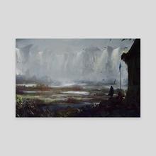 Ashfall - Canvas by Camila Vielmond