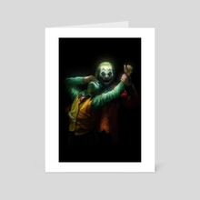 Dance with my demons  - Art Card by Kode Subject