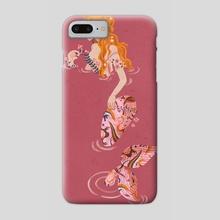 Sirenas I - Phone Case by pau zamudio