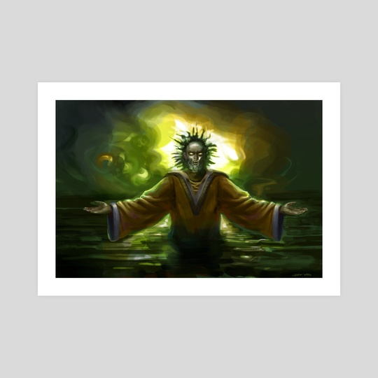 Voodoo Priest by Jeff Ward